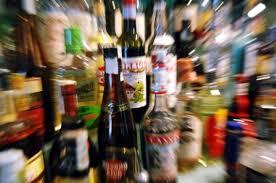 alcool bottiglie
